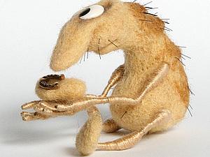 Подкованная блоха | Ярмарка Мастеров - ручная работа, handmade