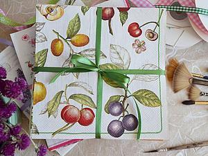 Наборы салфеток в многолотовом аукционе | Ярмарка Мастеров - ручная работа, handmade