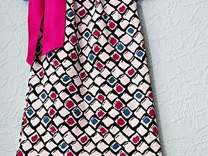 Шьем сарафан для девочки за час. Ярмарка Мастеров - ручная работа, handmade.