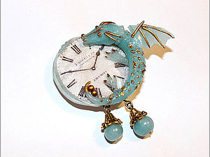 Моя первая покупка - Голубой Дракон! | Ярмарка Мастеров - ручная работа, handmade