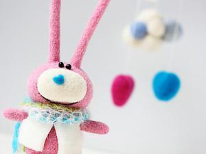 Новый заяц маленькое видео. Ярмарка Мастеров - ручная работа, handmade.