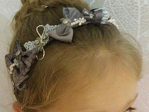 Ободок для волос своими руками. Ярмарка Мастеров - ручная работа, handmade.