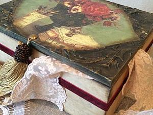 Мк «Шкатулка Шарм» | Ярмарка Мастеров - ручная работа, handmade