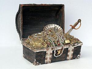 Кто хочет стать Охотником за Сокровищами? | Ярмарка Мастеров - ручная работа, handmade