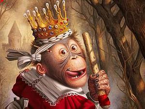 Обезьянки в европейской живописи: работы старинных мастеров и современных художников. Ярмарка Мастеров - ручная работа, handmade.