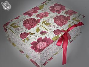 Подарочная упаковка для работ_Новая услуга моего магазина | Ярмарка Мастеров - ручная работа, handmade