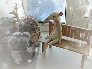 Зимняя сказка о белых крысах | Ярмарка Мастеров - ручная работа, handmade