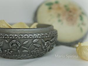 Серебряная малышка (имитация старинного серебра) | Ярмарка Мастеров - ручная работа, handmade