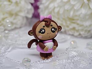 Лепим обезьянку из полимерной глины. Символ 2016 года. Ярмарка Мастеров - ручная работа, handmade.