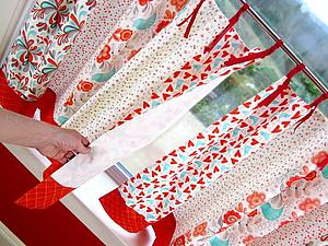 Оформляем шторы: 30 интересных вариантов крепления | Ярмарка Мастеров - ручная работа, handmade