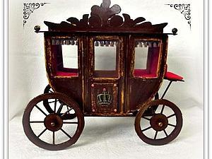 Мастерим карету для Принца | Ярмарка Мастеров - ручная работа, handmade