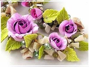 Лепка роз из термопластики для использования в бижутерии | Ярмарка Мастеров - ручная работа, handmade