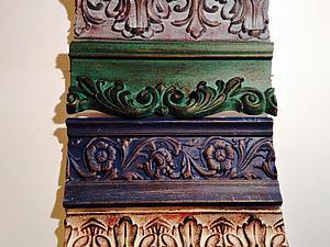 Декорирование рам, молдингов и не только   Ярмарка Мастеров - ручная работа, handmade