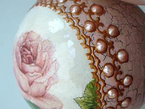 Декорируем новогодние шарики. Ярмарка Мастеров - ручная работа, handmade.