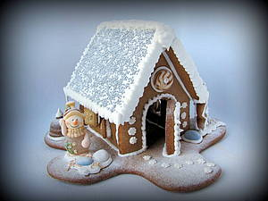 Пряничный домик | Ярмарка Мастеров - ручная работа, handmade