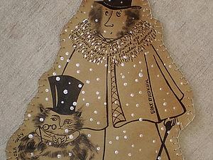 Бумажные штуки. Пушкин и кот ученый.   Ярмарка Мастеров - ручная работа, handmade