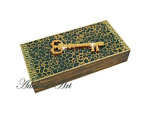 Купюрница Золотой ключик | Ярмарка Мастеров - ручная работа, handmade