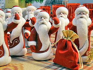 Как и где рождаются Дедушки Морозы! Отчет. Бугрова Жанна. | Ярмарка Мастеров - ручная работа, handmade