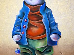 Рисуем Барсика: последний штрих. Ярмарка Мастеров - ручная работа, handmade.
