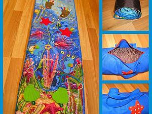 Развивающий и массажный коврик для Детей.   Ярмарка Мастеров - ручная работа, handmade