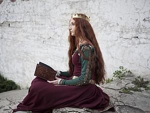 Скоро в магазине новое средневековое платье с аксессуарами! | Ярмарка Мастеров - ручная работа, handmade
