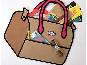 Необычные плоские сумки и забавные кошельки | Ярмарка Мастеров - ручная работа, handmade