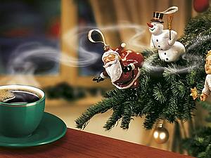 Новогодний кофе | Ярмарка Мастеров - ручная работа, handmade