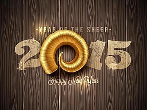 Поздравляю с наступающим Новым 2015 годом!   Ярмарка Мастеров - ручная работа, handmade