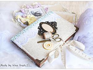 Аукцион! Очаровательный блокнотик на швейную тематику. До 22.00 по мск 11 апреля. | Ярмарка Мастеров - ручная работа, handmade