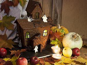 Готовимся к Хэллоуину: строим съедобный дом для привидений | Ярмарка Мастеров - ручная работа, handmade