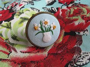 Нежное кольцо Букет нарциссов | Ярмарка Мастеров - ручная работа, handmade