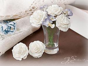 Делаем английские розы из фоамирана. Ярмарка Мастеров - ручная работа, handmade.