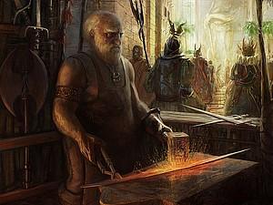 О Дагне из клана Тяжелых Молотов | Ярмарка Мастеров - ручная работа, handmade