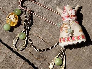 Волшебство булавки   Ярмарка Мастеров - ручная работа, handmade
