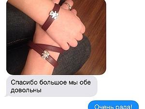 Отзыв от покупателя и наглядный пример браслетов серии Мама&малыш   Ярмарка Мастеров - ручная работа, handmade
