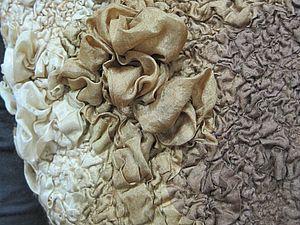 Сложные элементы декорирования войлока. Новый мастер-класс | Ярмарка Мастеров - ручная работа, handmade