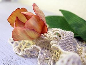 Мастер-класс «Тюльпан из фоамирана». Ярмарка Мастеров - ручная работа, handmade.