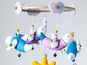 Мобиль для малыша | Ярмарка Мастеров - ручная работа, handmade