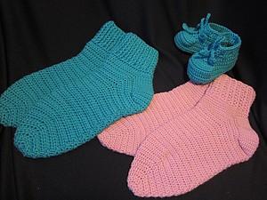 Видео мастер-класс по вязанию носков крючком | Ярмарка Мастеров - ручная работа, handmade