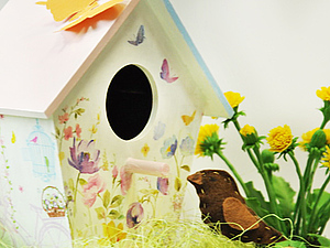 «Скворцы, прилетайте!»: декорируем скворечник. Ярмарка Мастеров - ручная работа, handmade.