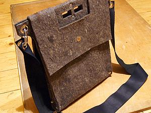 Изготовление сумки из войлока | Ярмарка Мастеров - ручная работа, handmade