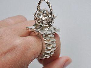 Кольца - скульптуры от Rebecca Rose | Ярмарка Мастеров - ручная работа, handmade