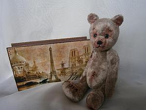 Авторский мишка Мартин | Ярмарка Мастеров - ручная работа, handmade