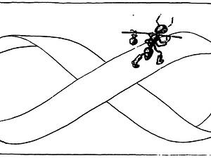 Мёбиус и его лента. Ярмарка Мастеров - ручная работа, handmade.