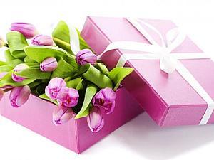 С наступающим, 8 марта поздравляю, счастья, радости желаю!!!   Ярмарка Мастеров - ручная работа, handmade