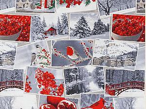 Грандиозная закупка новогодних тканей и подарок - конфетка!!! - до 31 июля