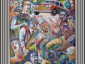Музыкальная живопись   Ярмарка Мастеров - ручная работа, handmade