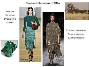 Модные оттенки зеленого в стильных нарядах сезона весна-лето 2016. Часть 1. Ярмарка Мастеров - ручная работа, handmade.