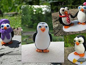 Мастер класс по созданию пингвина | Ярмарка Мастеров - ручная работа, handmade
