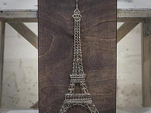 Создаем интерьерную картину в стиле string art   Ярмарка Мастеров - ручная работа, handmade